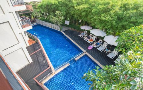 A view of the pool at Aonang All Seasons Beach Resort or nearby