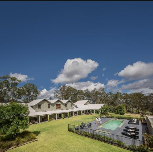 A view of the pool at Spicers Vineyards Estate or nearby