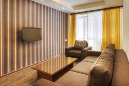 Гостиная зона в Tsaghkahovit Hotel
