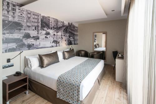 Un ou plusieurs lits dans un hébergement de l'établissement Catalonia Born