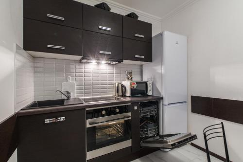 Кухня или мини-кухня в Apartments Viva