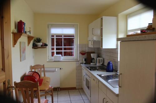 Küche/Küchenzeile in der Unterkunft Ferienhaus Christa