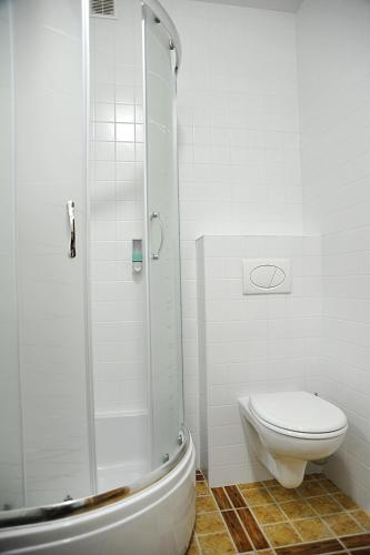 A bathroom at Zolotoye Runo