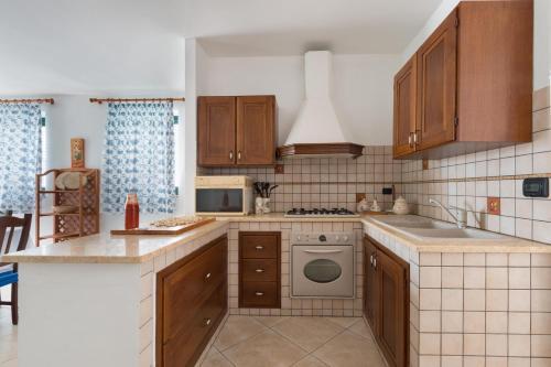 Cucina o angolo cottura di Villetta Oltremare