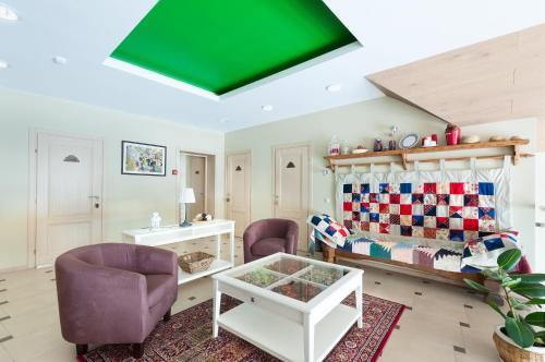 Гостиная зона в Гостевой дом Бабинов