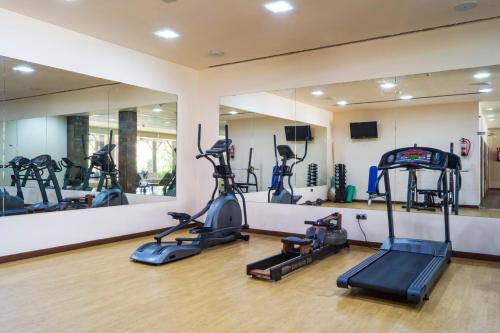 Gimnasio o instalaciones de fitness de Capanes del Golf