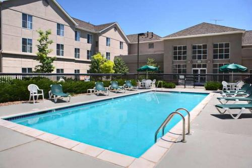 The swimming pool at or near Homewood Suites by Hilton Colorado Springs-North