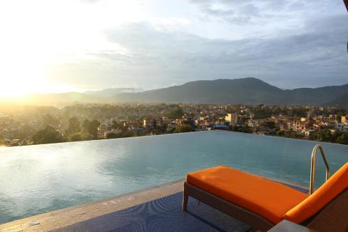 The swimming pool at or near Hotel Shambala