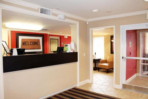 The lobby or reception area at Extended Stay America - Las Vegas - Midtown