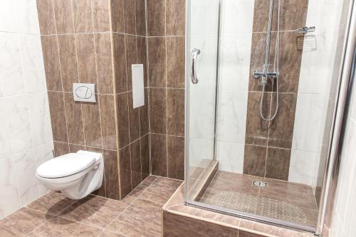 Ванная комната в Мотель Руслан