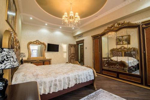 Ліжко або ліжка в номері Panskiy Dvir