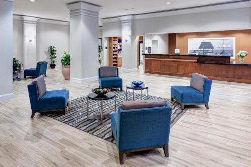 The lobby or reception area at Hampton Inn Ft. Lauderdale/Downtown Las Olas Area