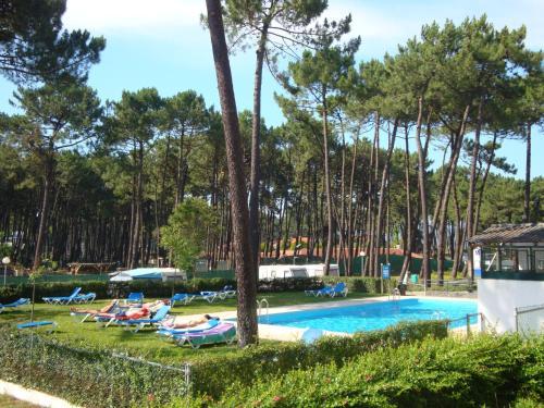The swimming pool at or near Parque de Campismo Orbitur Viana do Castelo