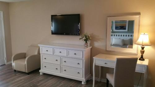 A television and/or entertainment center at Point Pleasant Manor