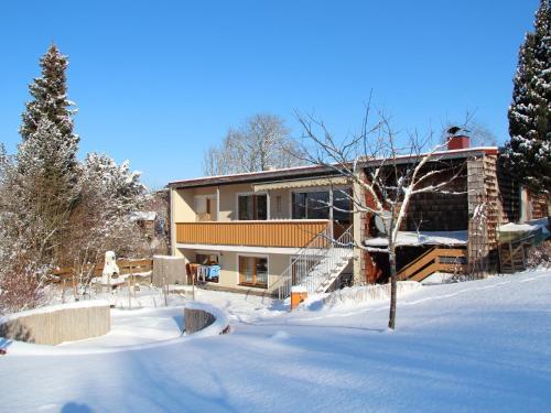 Haus Kurtz im Winter