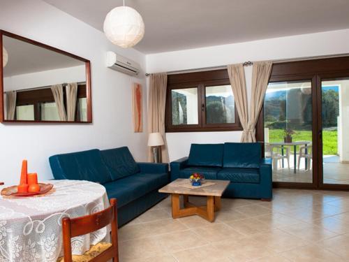 אזור ישיבה ב-Dolce Vati Luxury Villas