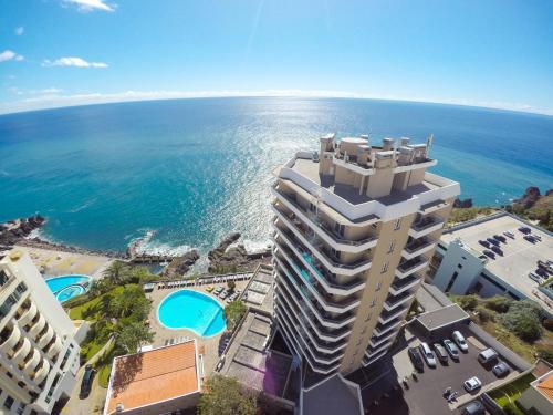 A bird's-eye view of Duas Torres Hotel