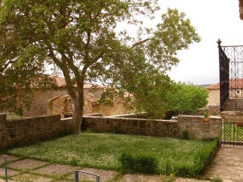 Jardín al aire libre en La Nogala