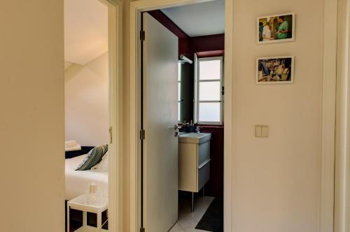 Uma casa de banho em Ribeira Cinema Apartments