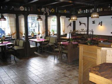 A restaurant or other place to eat at Landhaus im Grund
