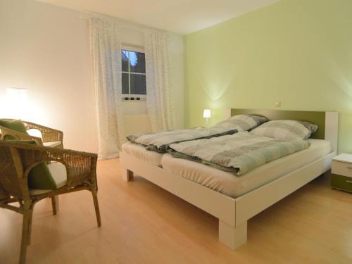 Ein Bett oder Betten in einem Zimmer der Unterkunft Modern Apartment in Mechernich Eifel near Forest