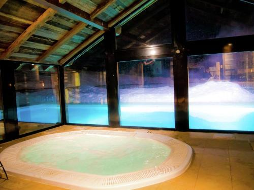The swimming pool at or near Apartment Les Alpages De Val Cenis 2