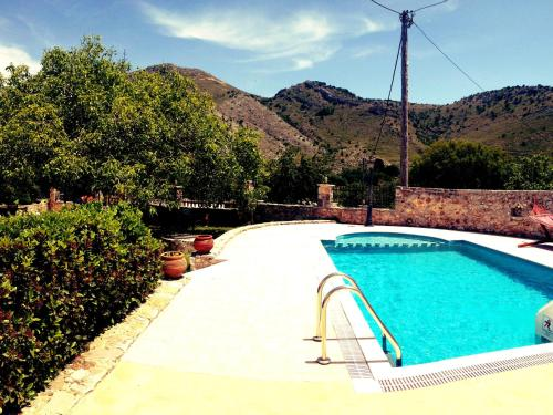 The swimming pool at or near Stunning Villa in Impros, Greece with Swimming Pool