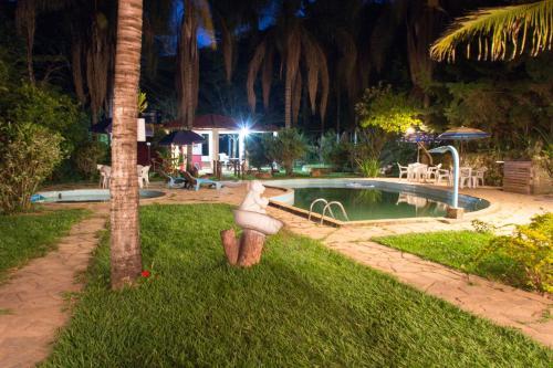 The swimming pool at or near Pousada Estalagem Moeda Real