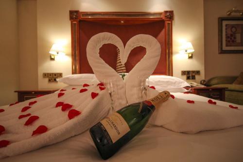 キガリ セレナ ホテルにあるベッド