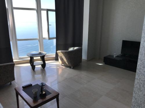 Гостиная зона в Apartment Palmira