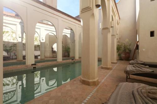 The swimming pool at or near La Villa Nomade