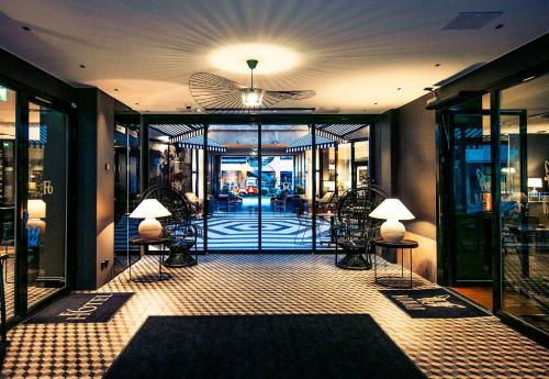The lobby or reception area at Hotel F6