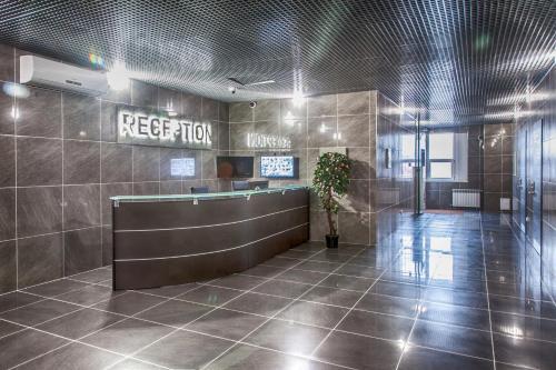 Лобби или стойка регистрации в Мотель Руслан