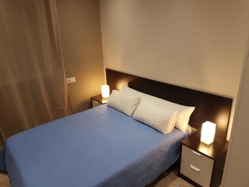 Cama o camas de una habitación en Vivienda Reina Victoria