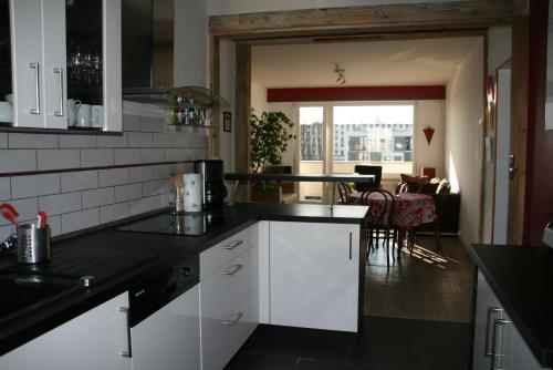 Cuisine ou kitchenette dans l'établissement L'Appartement de l'Observatoire