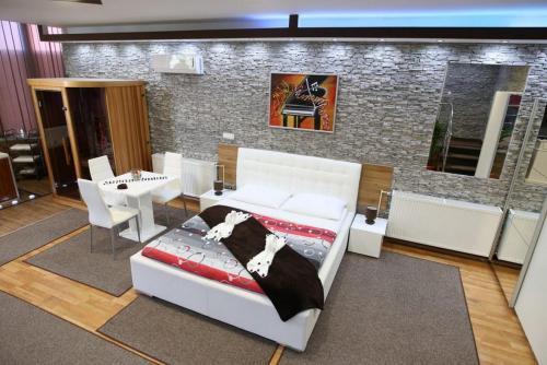 Krevet ili kreveti u jedinici u objektu Apartments Villa Marija