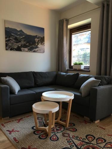 Część wypoczynkowa w obiekcie Apartament Perla Zakopane