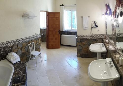 Un baño de Hotel Villa Lehmi