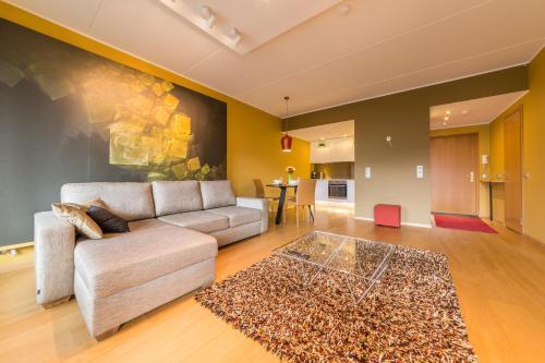 Istumisnurk majutusasutuses Hilltop Apartments - City Centre Foorum