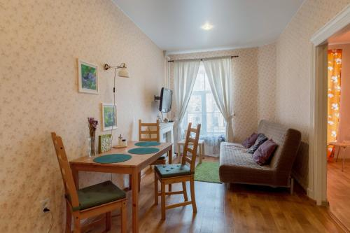 Гостиная зона в Апартаменты на Невском проспекте 88