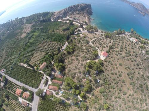 A bird's-eye view of XeniCamp & Bungalows