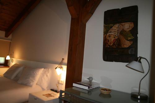 Cama o camas de una habitación en Hotel Urune