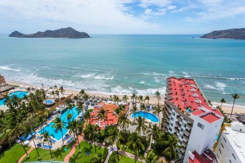 The Inn at Mazatlan a vista de pájaro