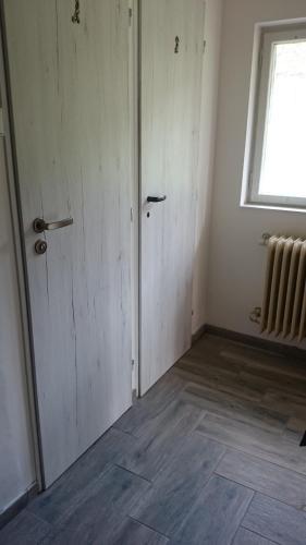 Postel nebo postele na pokoji v ubytování Chalupa Maruška