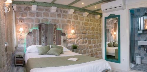 Cama o camas de una habitación en Guesthouse Rustico