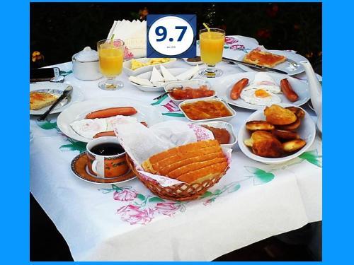 Možnosti zajtrka za goste nastanitve VILA LILI Guest House - Berat