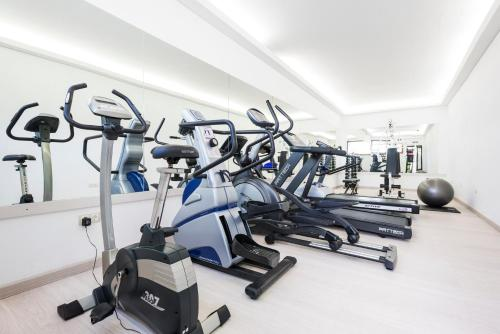 The fitness center and/or fitness facilities at Hotel Cala Fornells