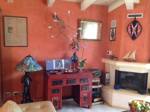 TV o dispositivi per l'intrattenimento presso Villa Gardasee