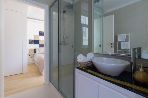 Uma casa de banho em Mordoma Guest House