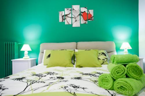 Letto o letti in una camera di Un Amore Di Casa
